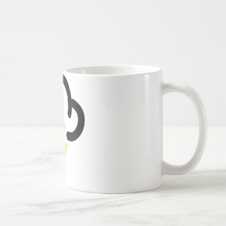 Blixtstorm: retro väderprognossymbol kaffemugg