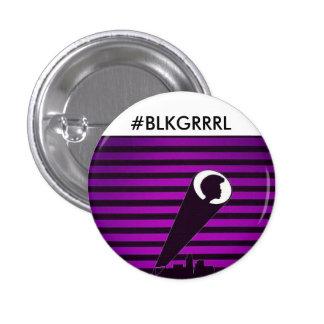 BLK GRRRL knäppas Knapp Med Nål
