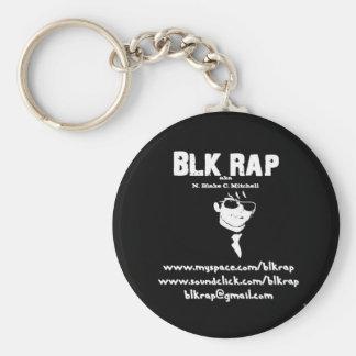 BLK rappar - nyckelringen Rund Nyckelring