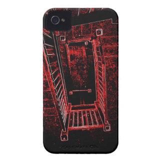 Blod Splattered trappor iPhone 4 Hud