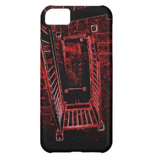 Blod Splattered trappor iPhone 5C Fodral