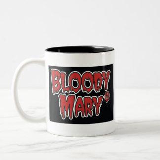 Blodig Mary skallemugg Två-Tonad Mugg