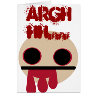 Blodig Zombie OBS Kort