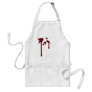 Blodigt förkläde
