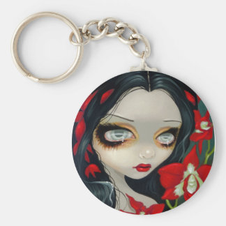 """BlodOrchid"" Keychain Nyckelringar"