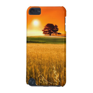 Blodröd solnedgång iPod touch 5G fodral