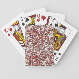 Blöds gitarrer som leker kort casinokort