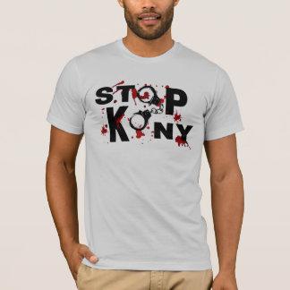 Blodsplatters- och handbojaSTOPP KONY! Tshirts