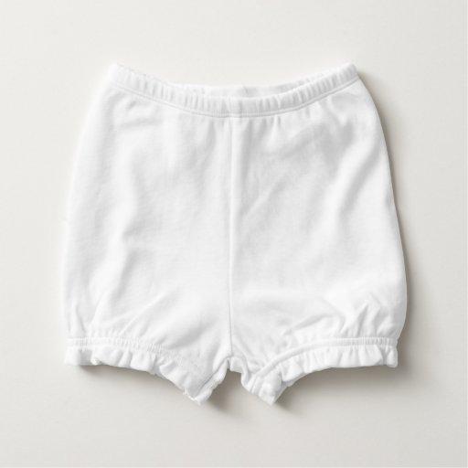 Custom Baby Ruffled Diaper Bloomers