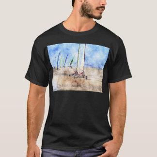 Blokart Racers på stranden T-shirt