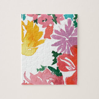 Blom- anpassadeanteckningsbok för ljus vattenfärg pussel