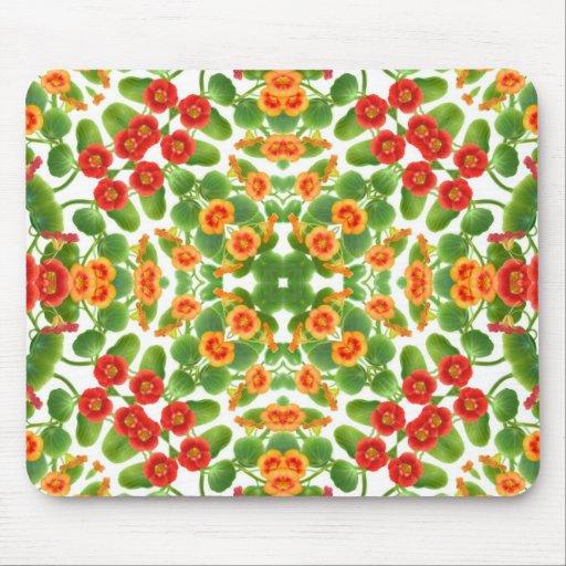 Blom- art nouveau Mousepad Mus Mattor