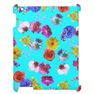 Blom- blåttfodral iPad mobil fodral
