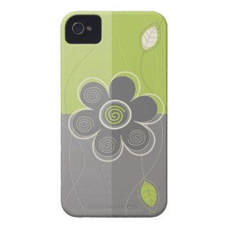 Blom- dekor iPhone 4 Case-Mate skydd