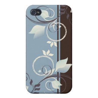 Blom- dekor iPhone 4 skal