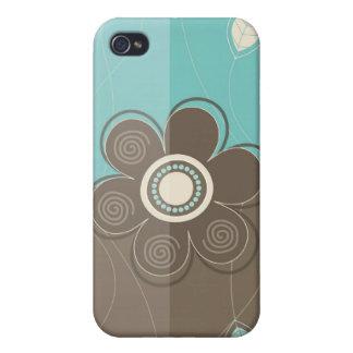 Blom- dekor mig iPhone 4 cover