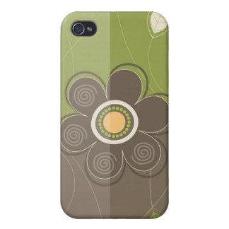 Blom- dekor mig iPhone 4 fodral