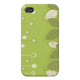 Blom- dekor mig iPhone 4 hud