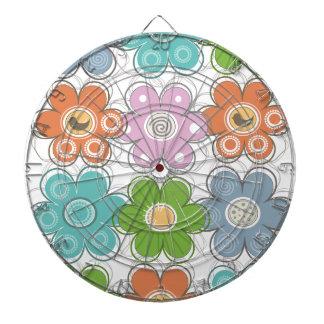 Blom- dekor piltavla
