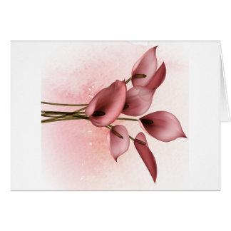 Blom- design 003 hälsningskort