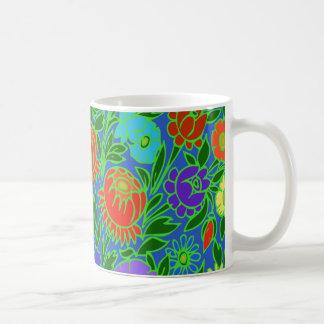 Blom- design #2 vit mugg