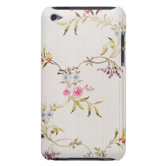Blom- design av nejlikor och ro för ett silke M iPod Touch Skydd