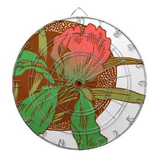 Blom- design darttavla