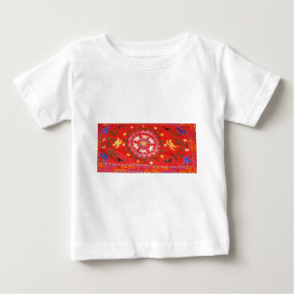 Blom- design för antik Ottomanbroderi Tee Shirt