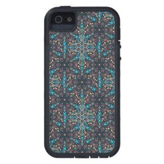 Blom- design för mandalaabstraktmönster iPhone 5 skydd