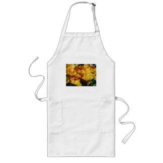 Blom- design för Peachy Petals Långt Förkläde