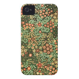Blom- design för vintage iPhone 4 cover