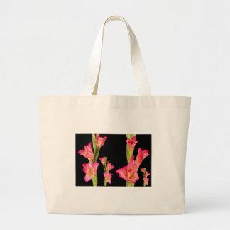 Blom- eleganta gåvor för exotisk rosablommabukett jumbo tygkasse