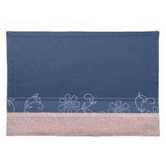 Blom- eleganta ställemats för rosor och för blått bordstablett
