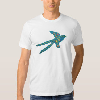 Blom- Embroidered Scissor-tailed Flycatcher T-shirt