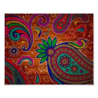 Blom- färgrik Wood strukturbakgrund för mönster