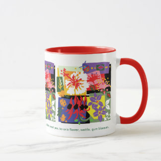 Blom- firande - mugg