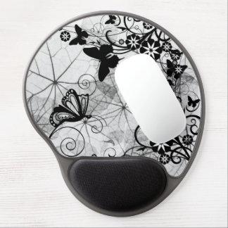 Blom- fjärilsträdgårdGel Mousepad Gelé Mus-mattor