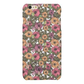 Blom- fodral för fullföljande för nostalgiiPhone 6