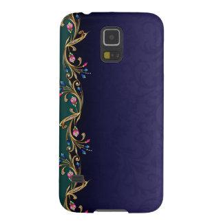 Blom- fodral för Nexus för juvelgirlandSamsung Galaxy S5 Fodral