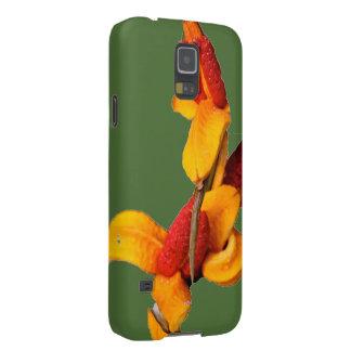 Blom- fodral för Samsung galax S5 Galaxy S5 Fodral