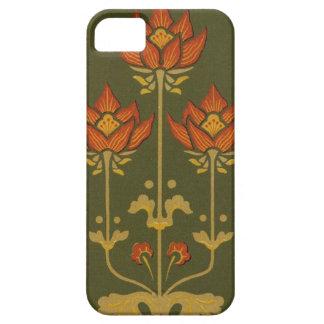 Blom- Fodral-Kompis för Victorian iPhone 5 iPhone 5 Case-Mate Fodral