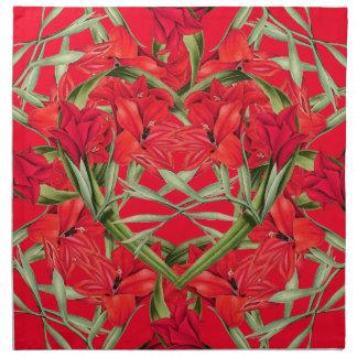 Blom- hjärta av servetter för blommaGladiolas