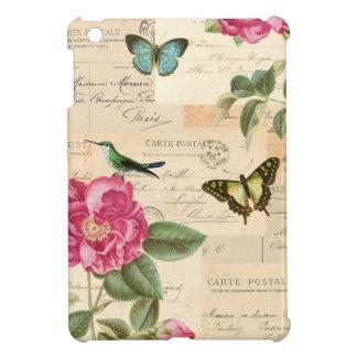 Blom- ipadfodral för vintage flickaktigt med iPad mini skydd
