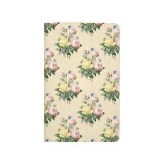 Blom- journal för mönster för vintageroblomma