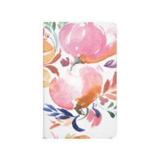 Blom- journal för vattenfärg. Flickaktigt fick-