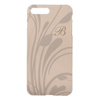 Blom- krusidull för Monogram iPhone 7 Plus Skal