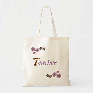 Blom- läraredesign budget tygkasse
