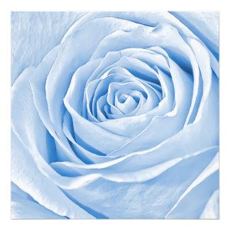Blom- ljus fotoläckerbit - blåttro fototryck