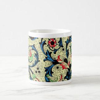 Blom- målningmugg 2 för Florentine renaissance Kaffemugg
