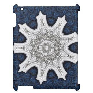 Blom- Mandala för Kaleidoscope i Wien: Ed. 220,5 iPad Mobil Skydd